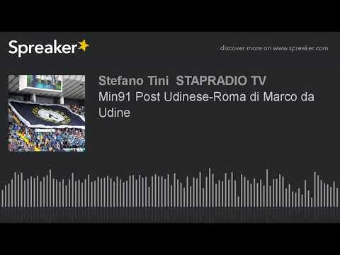 Min91 Post Udinese-Roma di Marco da Udine