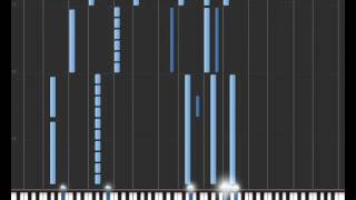 WoW Wrath of the Lich King - Main Theme piano (MIDI)