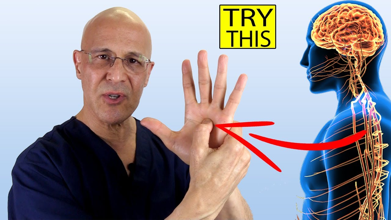 Push Here...Your Whole Body Will Thank You | Dr. Mandell