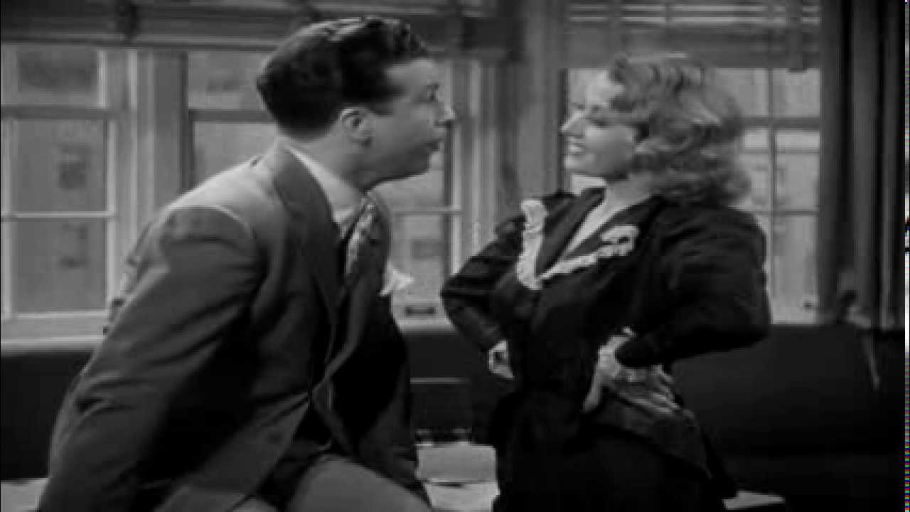 Dick Powell and Joan Blondell ~ Speaking of the Weather