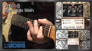 Boss AW-3 Wah Pedal für Gitarre oder Bass -Nevada Music UK