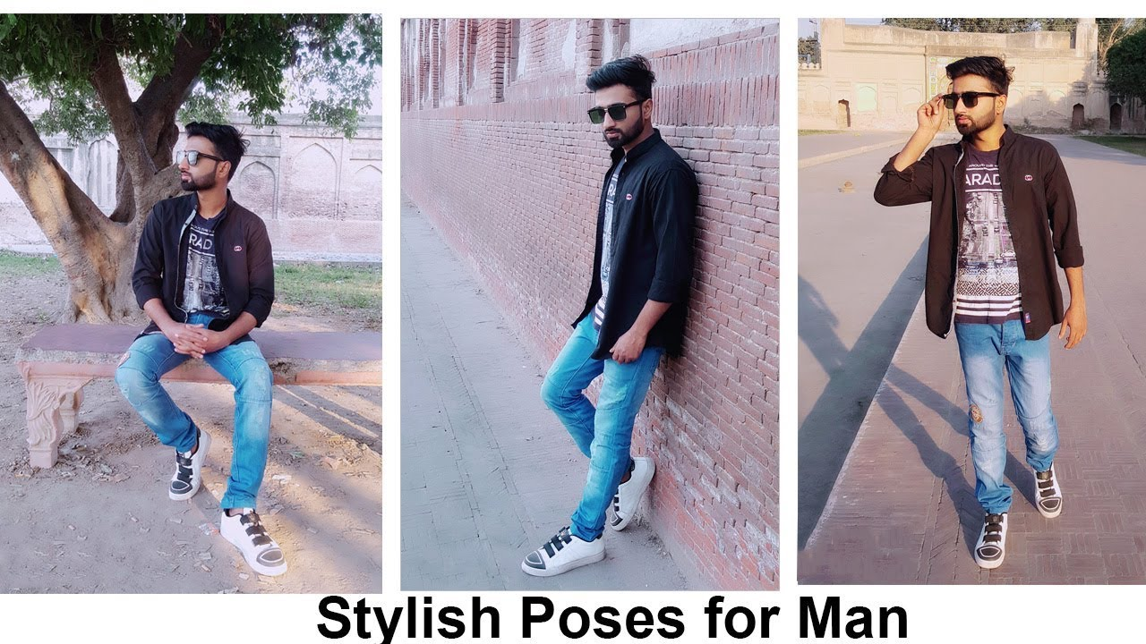 Best Stylish Poses For Boys Live Photoshoot Outdoor Professional Poses Youtube