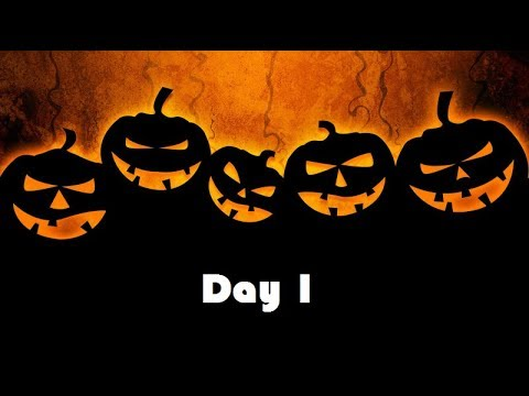 31 Days of Halloween - 2017 : Day 1 - YouTube