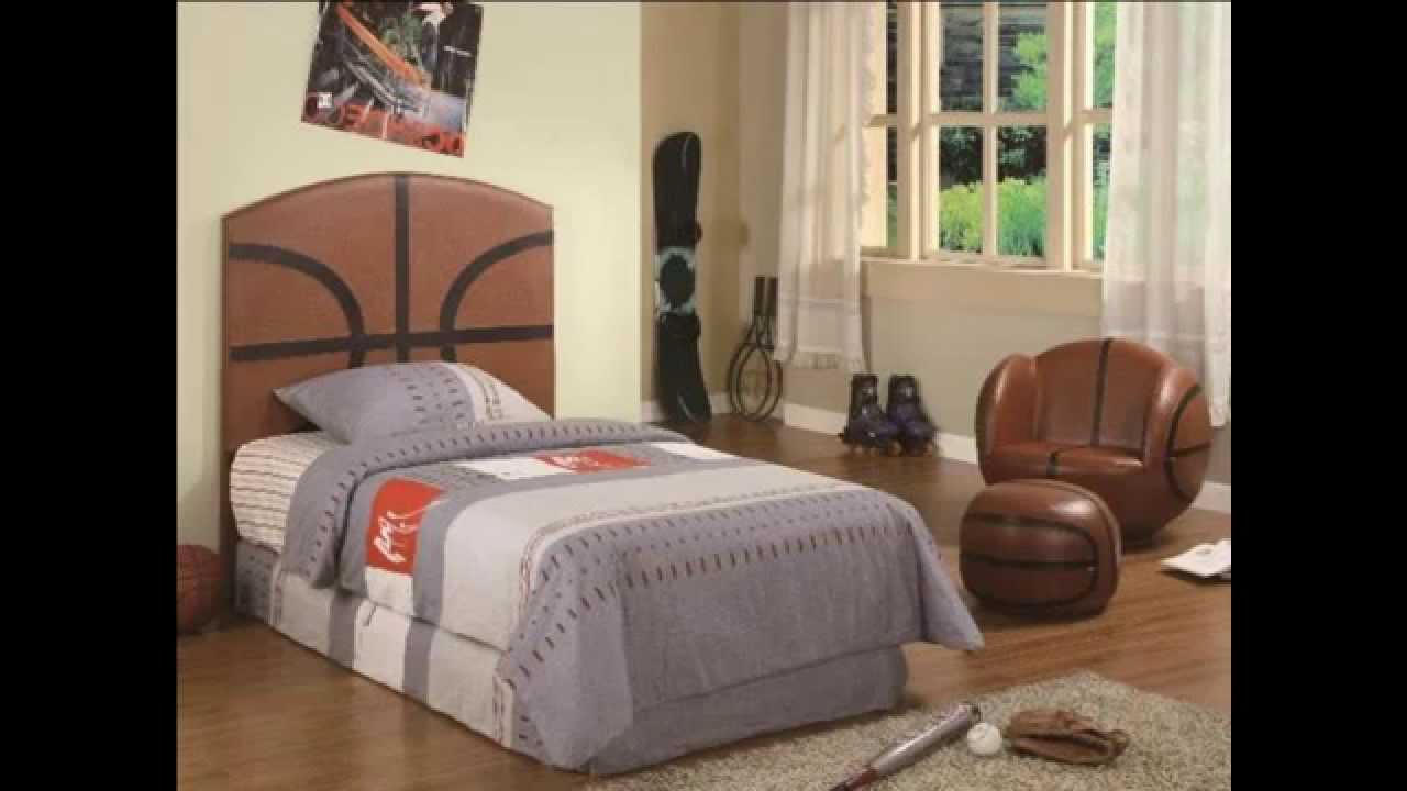 Boys Basketball Bedroom Ideas 14 awesome basketball themed rooms for your youngsters. slam dunk