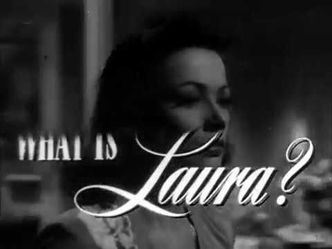 Laura 1944 trailer Gene Tierney Dana Andrews