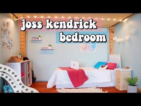 DIY AG BEDROOM | How To Make An American Girl Doll Bedroom (joss Goty 2020) #DeckOutTheDollhouse