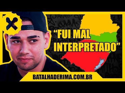 Nicolas Walter #02 - Carreira musical e Sul no Mapa   Entrevista  Portal Batalha de Rima