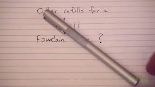 Ink cartridge refill for Muji …
