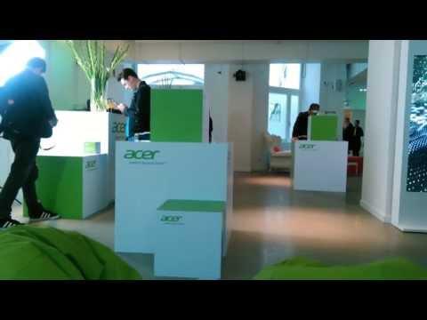 Acer Liquid S2 4K Video Sample at IFA 2013