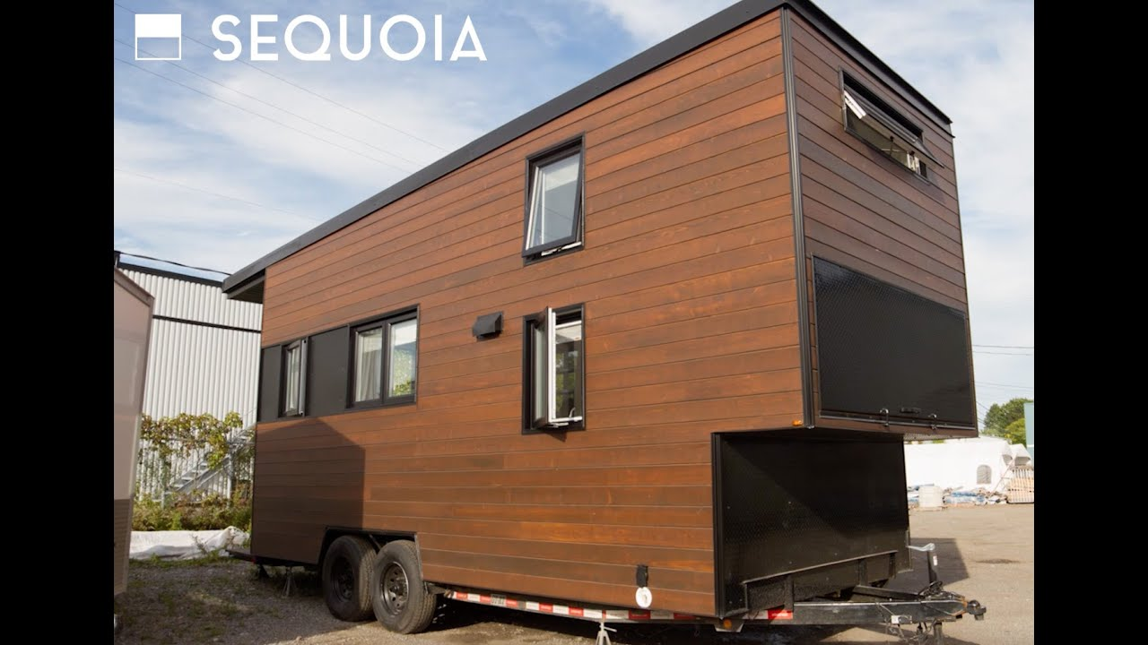 Sequoia tiny house tour by minimaliste youtube for Minimaliste houses