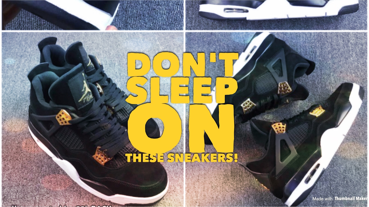 4b9347db45bfc9 Why The Jordan Royalty 4s Are Worth Buying! - YouTube