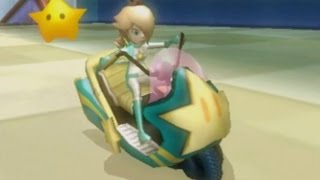 Mario Kart Wii - Mirror Flower Cup Grand Prix (Rosalina Gameplay)