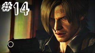 Resident Evil 6 Gameplay Walkthrough Part 14 - PURSUIT - Chris / Piers Campaign Chapter 3 (RE6)