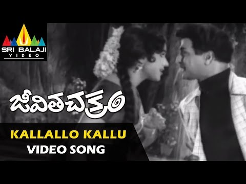 Jeevitha Chakram Songs | Kallallo Kallupetti Video Song | NTR, Vanisri | Sri Balaji Video