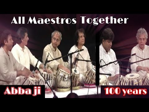 Ustad Zakir Hussain | Pt. Yogesh Samsi | All Tabla Maestros Together | Mp3