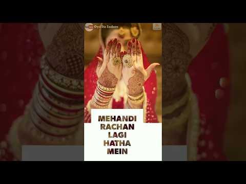 WEDDING SPECIAL - Aayi Shubh Ghadi   Full Screen Status Ye Rishta Kya Kehlata Hai  Oye Its Indore ❤️