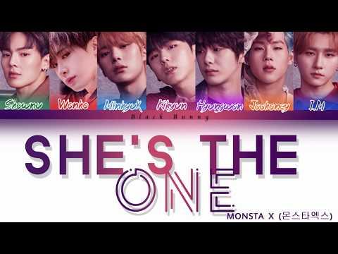 MONSTA X (몬스타엑스) - She's The One (Color Coded Lyrics /Eng)