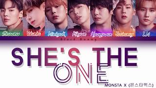 MONSTA X (몬스타엑스) - She's The One (Color Coded Lyrics /Eng) mp3