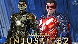 Injustice 2 Online - EPIC NEW ROBIN GEAR!
