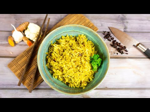 Gebratener Blumenkohl-Reis   Der Bio Koch