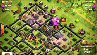 Clash Of Clans - TH10 #May 2015 # Best Farming Trophy Range #Part 4