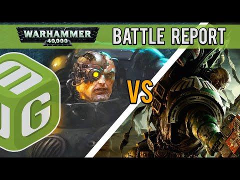 Iron Hands Vs Dark Angels Warhammer 40k Battle Report Ep 14