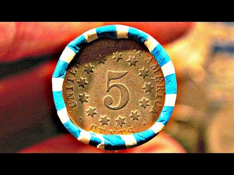 I HIT THE MEGA JACKPOT!!! COIN ROLL HUNTING NICKELS EPIC HUNT