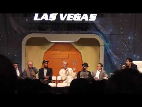 Deep Space 9 Panel (Part 1 out of 2) at the 2016 Star Trek Convention