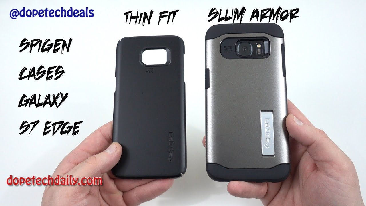 promo code f6051 3f129 Spigen Samsung Galaxy S7 Edge Cases- Slim Armor and Thin Fit