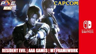 Nintendo Switch - Capcom's BIG Involvment, MT Framework, Resident Evil/AAA Games Incoming! | PE NewZ