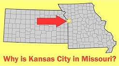 Why Kansas City is (Mostly) in Missouri