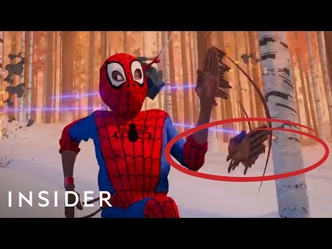 How 'Spider-Man: Into The Spider-Verse' Was Animated | Movies Insider