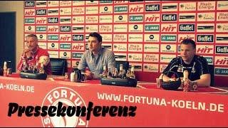 Die Pressekonferenz nach der Heimniederlage gegen Stuttgarts U23