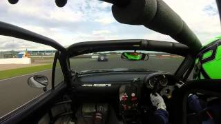 Race car driver finds the perfect way to troll opponents