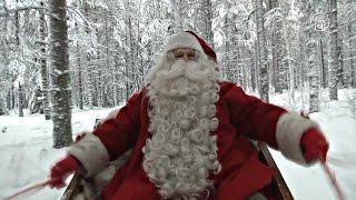 Санта-Клаус из Лапландии готовится к путешествию (новости)