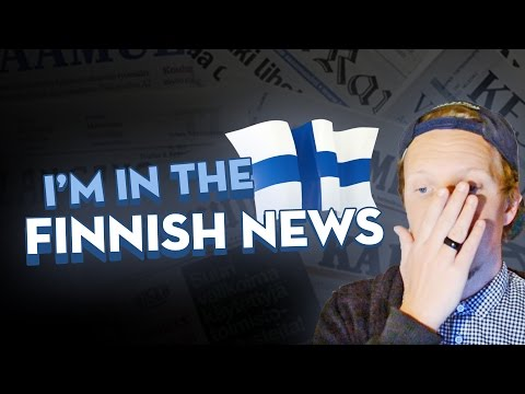 I'M IN THE FINNISH NEWS :D