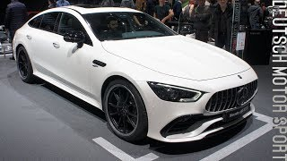 2019 Mercedes-AMG GT 53 4-Door Coupé - Full exterior and interior review