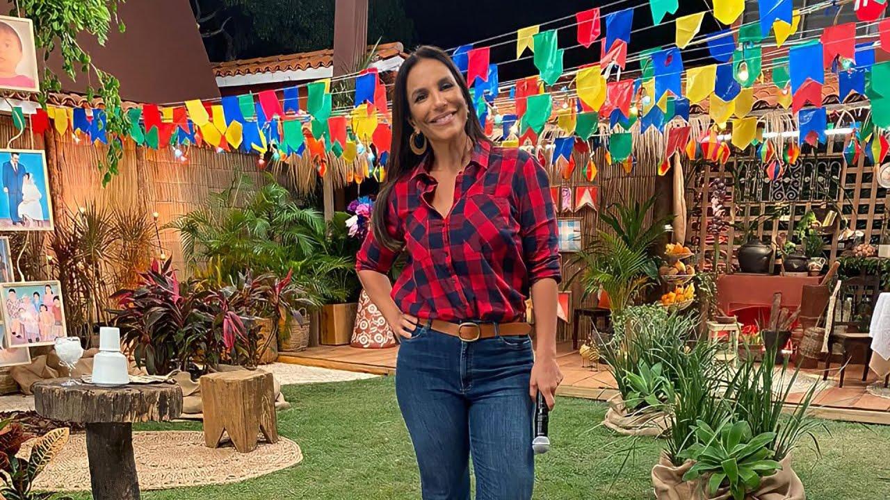 Live Ivete Sangalo | Arraiá da Veveta #ArraiaDaVeveta - YouTube