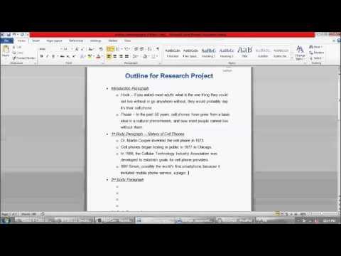 project essay grade