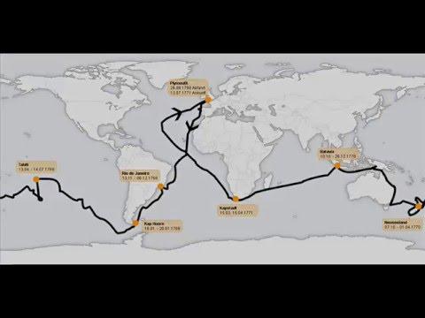 Map Of Australia 1770.19th April 1770 Captain Cook Sights Australia Youtube