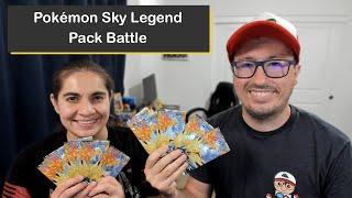 Pokémon Sky Legend Japanese Booster Pack Battle