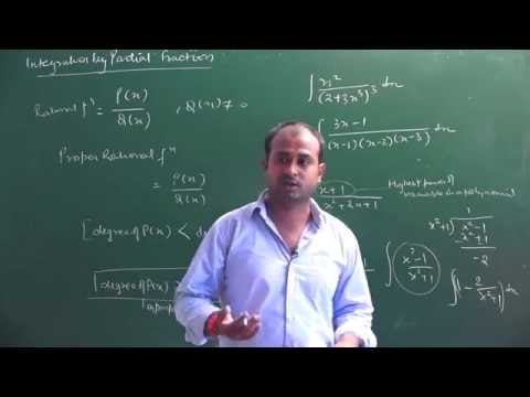 Integration by Partial Fraction Method | CBSE 12 Maths & competitive | NCERT 12 Maths Ex 7.5 intro