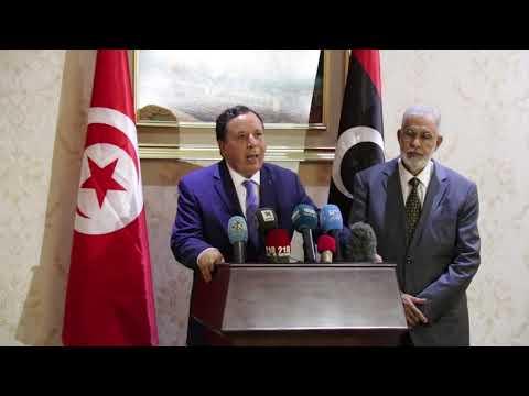 وزير الشؤون الخارجية خميس الجهيناوي في زيارة عمل وأخوّة إلى ليبيا هي الأولى منذ 2016.