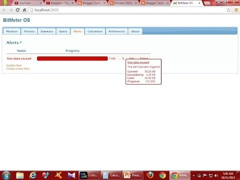 HOW TO MEASURE  OR MONITOR YOUR INTERNET USAGE AND REDUCE YOUR  INTERNET BILL!!