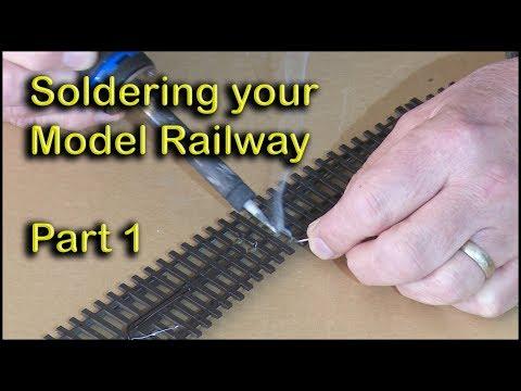 Soldering Model Railways Part 1