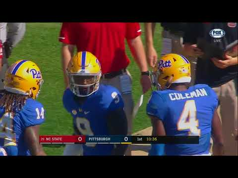 2017.10.14 #20 NC State Wolfpack at Pittsburgh Panthers Football