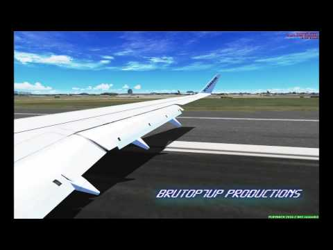 [FSX] Land in Lisbon Ryanair 737-800 ATI 5770 GDDR5 [HD]