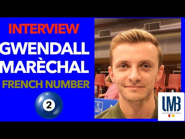 Billard - Interview Gwendal Maréchal,  n°3 Equipe de France - CHALLENGE CUP 3C Kozoom Cap Ferret
