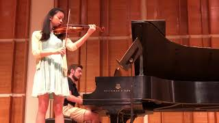 Sirena Huang and Dominic Chamot Playing  Prokofiev Sonata From The Classical Bride Music Festival