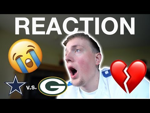 COWBOYS FAN REACTION TO COWBOYS/PACKERS GAME